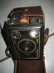 alte AGFA Rollfilmkamera,