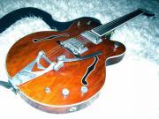 alte Halbakustik-Gitarre