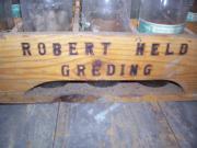 Alte Holzkiste für