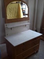 Alte Spiegelkomode / Waschtisch