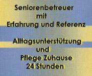Altenbetreuer/Mann sucht