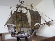 Altes Schiff aus