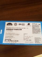 Andreas Gabalier Konzertkarte