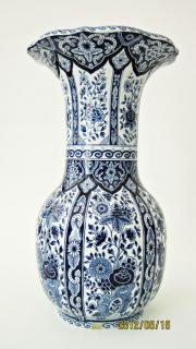 antike Große Delfter Vase