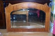 Antiker Spiegel - Geschliffenes
