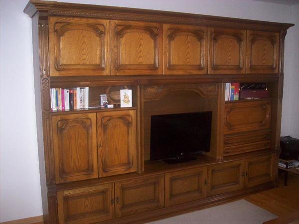 antiker wohnschrank in mannheim wohnzimmerschr nke. Black Bedroom Furniture Sets. Home Design Ideas