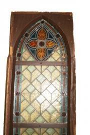 Antikes Kirchenfenster - Herrliches Farbspiel