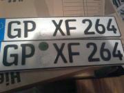 Auto Kennzeichen