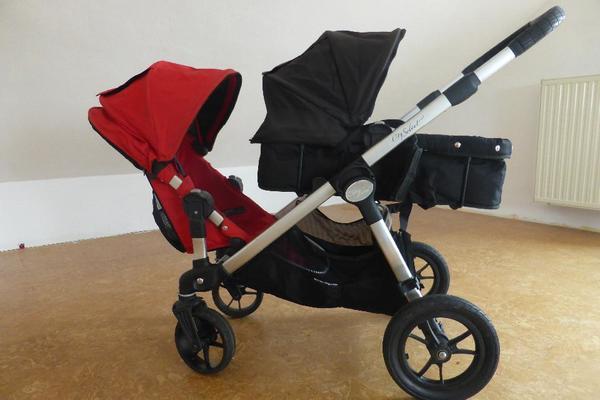 baby jogger city select geschwisterwagen inkl babywanne. Black Bedroom Furniture Sets. Home Design Ideas