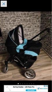 Baby und Kinderwagen