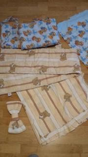 Babybett Vorhang und