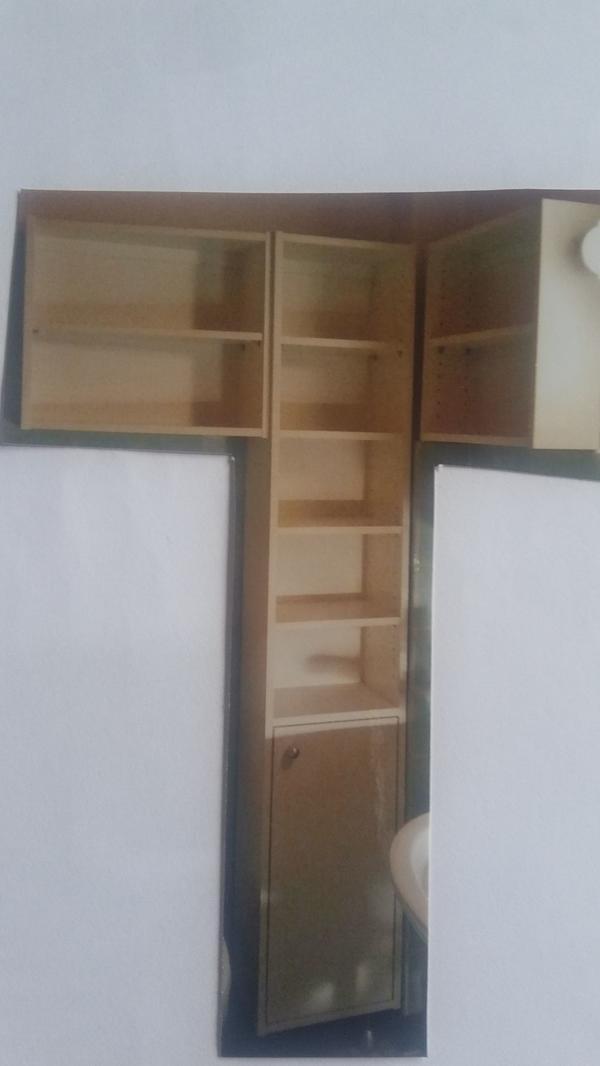 Badezimmer Schränke weiß in Maintal - Bad, Einrichtung und Geräte ...