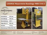Bandsäge / LISSMAC Säge /