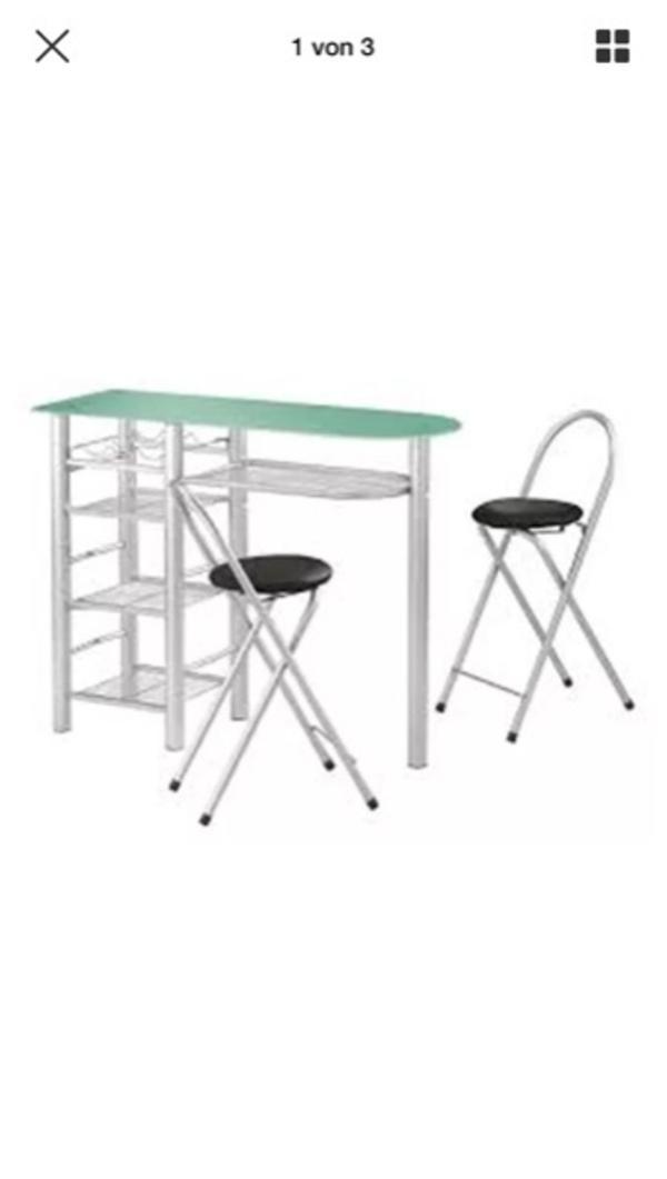 bartisch mit 3 ankauf und verkauf anzeigen finde den billiger preis. Black Bedroom Furniture Sets. Home Design Ideas