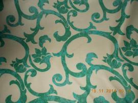 Baumwollstoff grüne Ornamente auf weiß: Kleinanzeigen aus Nürnberg Forsthof - Rubrik Handarbeit, Basteln