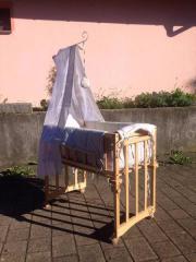 babywiege holz gebraucht kaufen nur 4 st bis 75 g nstiger. Black Bedroom Furniture Sets. Home Design Ideas