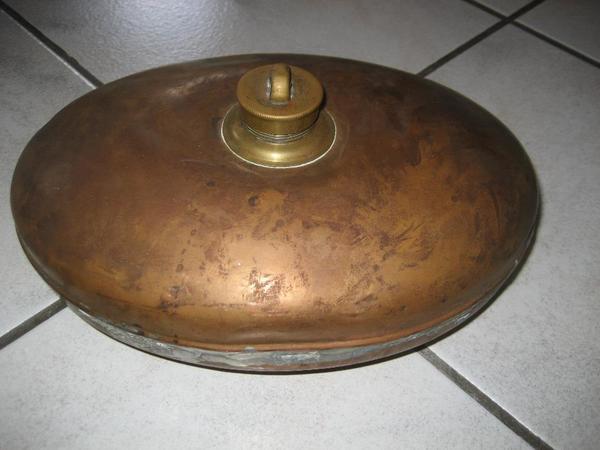 Bettflasche Wärmflasche alte » Sonstige Antiquitäten