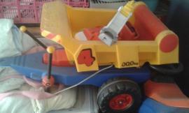 Sonstiges Kinderspielzeug - BIG Kipp-Anhänger für Kindertraktor etc