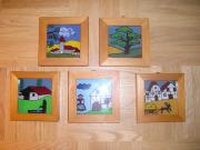 Bilder - Hinter-Glas-Malerei -