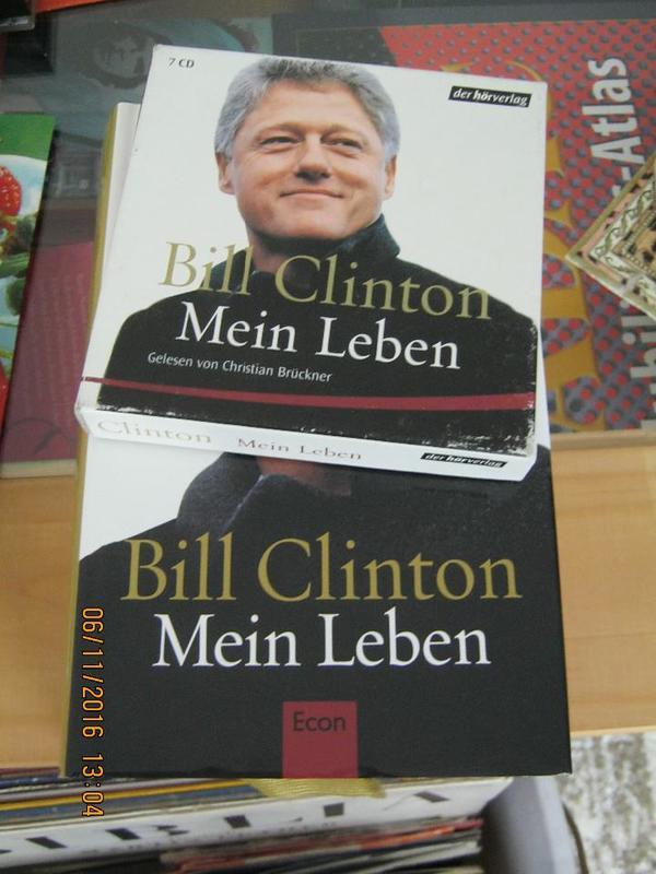Bill Clinton Buch - Waghäusel Kirrlach - Bill Clinton Buch und Hörbuch. Sehr guter Zustand. - Waghäusel Kirrlach