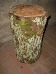 Birnbaum Holz Spaltklotz Klotz