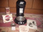 Blaue SENSEO Kaffeepadmaschine