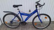 Blaues Jugendrad Mountainbike