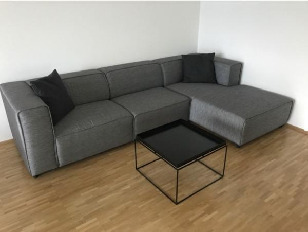 Designermöbel sofa  BoConcept Sofa / Couche Carmo Design - dunkelgrauer Stoff in ...