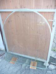 Bodenglasplatte für Kaminofen