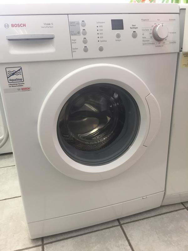 bosch maxx6 varioperfect in rankweil waschmaschinen. Black Bedroom Furniture Sets. Home Design Ideas