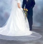 Brautkleid Gr 36 5-teilig