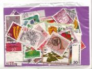 Briefmarken-Tüte Deutsche Bundespost 1970er Jahre