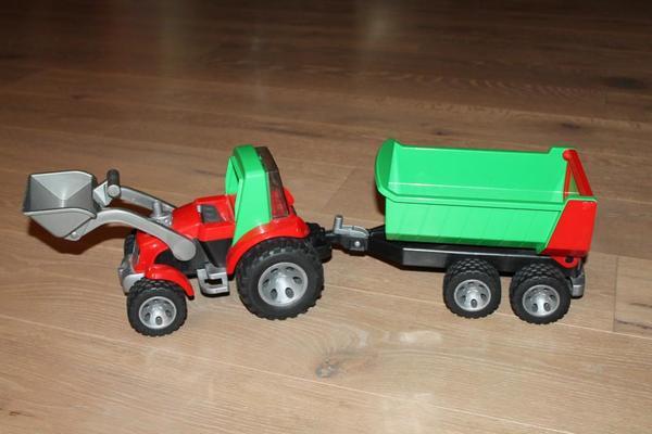 Bruder roadmax traktor bulldog mit frontlader und