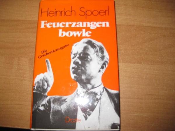 Buch - Die Feuerzangenbowle &Buch die Blechtrommel in