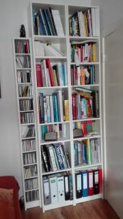 Bücherregal weiß (und