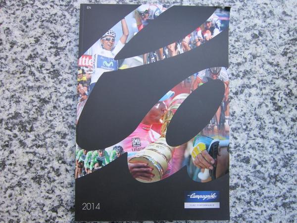 Campagnolo 5 Kataloge 2015-2014-2011-2010-2008 Rennrad