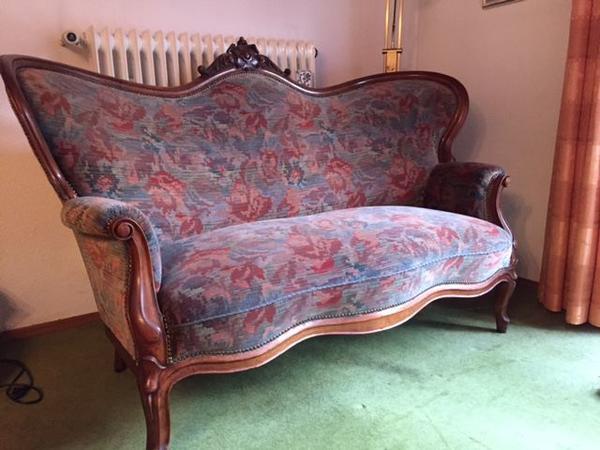 chippendale sofa tisch und 4 st hle in annweiler stilm bel bauernm bel kaufen und verkaufen. Black Bedroom Furniture Sets. Home Design Ideas