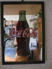 Coca Cola Spiegel ca 40