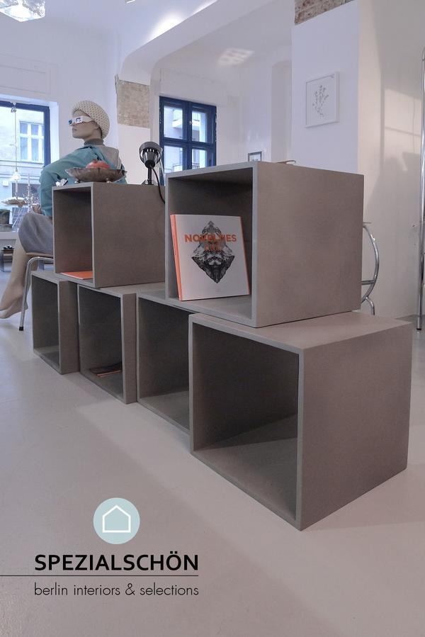 cubo jan kurtz beton, betonmöbel, regal, tisch, betontisch ... - Designer Betonmoebel Innen Aussen