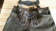 Damen-Trachtenlederhose kurz Größe M