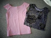 Damenbekleidung 2 Shirts Gr 32