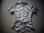 Damenbekleidung Bluse Kurzarm Gr 34
