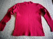 Damenbekleidung Shirt Rippenshirt