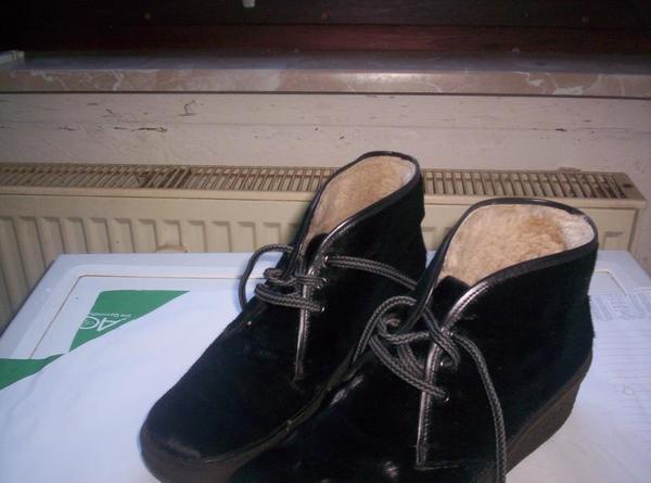 Damenschuhe Fohlenfellstiefelletten Gr. » Schuhe, Stiefel