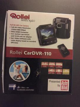 Navigationssysteme - dashcam Rollei CarDVR-110 GPS Auto-Kamera