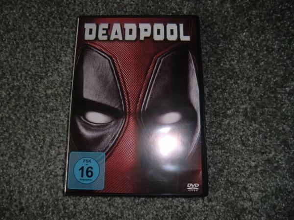 Deadpool, wie neu - München Bogenhausen - Verkaufe die Dvd Deadpool ca. 104 min., wie neu um 9,-Euro. - München Bogenhausen