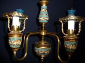 Bild 4 - Deckenlampe Hängelampe Lampe unvollständig - Sinsheim