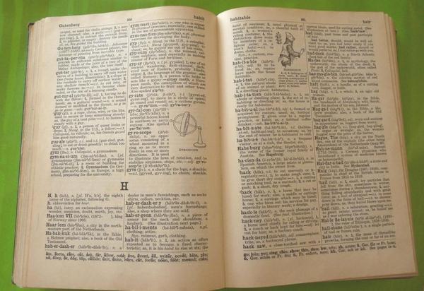 """DICTIONARY mit Seltenheitswert! - Güglingen - The Winston Simplified Dictionary for schools mit Originalstempel aus der """"Lafayette High School, Brooklyn NY"""" aus dem Jahre 1939 zu verkaufen! Die Wörter sind verständlicherweise auf Englisch erklärt, mit Schwarzweißabbildungen, leichte  - Güglingen"""