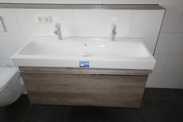 doppelwaschtisch keramag icon 120x48 5 mit unterschrank neu in r merberg bad einrichtung und. Black Bedroom Furniture Sets. Home Design Ideas