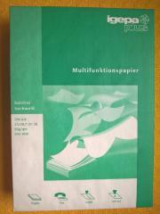 DRUCKERPAPIER -IGEPAplus- für Kopierer- Drucker-